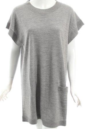 COS Kleid hellgrau meliert klassischer Stil
