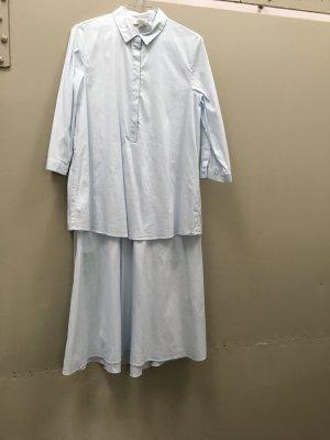 COS Kleid Hemdkleid blau Gr. 34 S