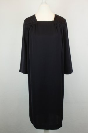 COS Kleid Midikleid Gr. 34 dunkelblau oversized