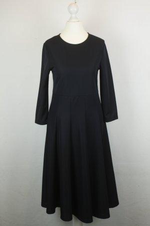 COS Kleid Midikleid Gr. XS schwarz