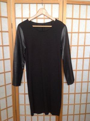 COS-Kleid mit Lederärmeln