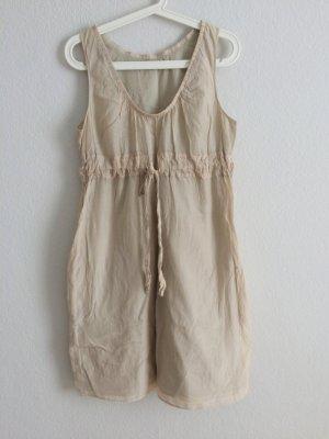 COS Kleid Nude Seide