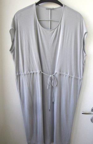 COS Kleid oversized Eggshape Taubenblau