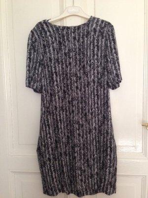 COS Kleid Schwarz Grau