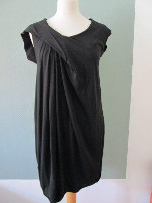 COS Jersey Dress black cotton