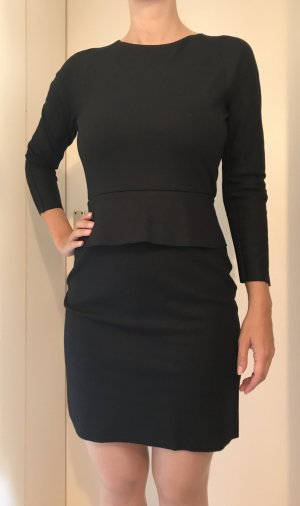 COS Pencil Dress black mixture fibre