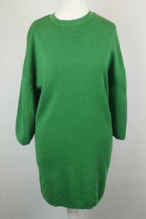 COS Knitted Dress green wool