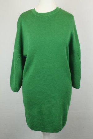 COS Kleid Strickkleid Wollkleid Gr. XS grün oversized