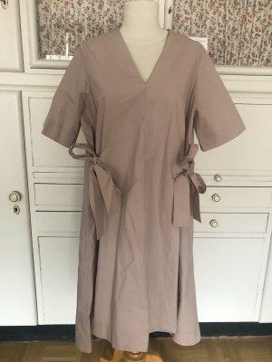 COS Shortsleeve Dress dusky pink cotton