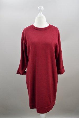COS Kleid Wolle rot Größe M