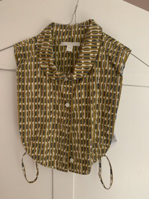 COS Blouse Collar sand brown