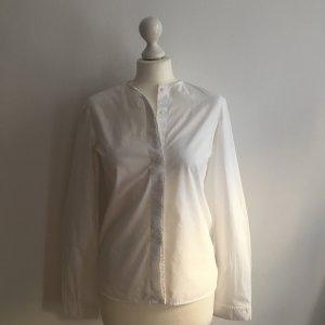 COS Kragenlose Bluse mit verdeckter Knopfleiste, Gr. 34