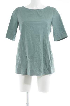 COS Kurzarm-Bluse graugrün Casual-Look