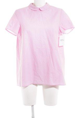 COS Kurzarm-Bluse rosa Casual-Look