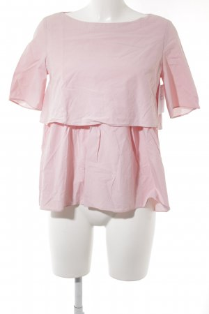 COS Kurzarm-Bluse rosé minimalistischer Stil