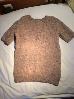 COS Short Sleeve Sweater beige-sand brown