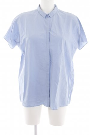 COS Short Sleeve Shirt blue business style