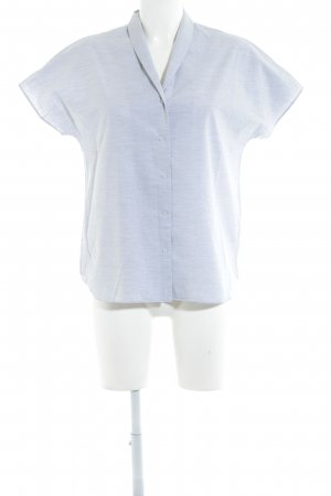 COS Short Sleeve Shirt light grey simple style