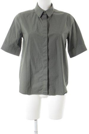 COS Kurzarmhemd khaki klassischer Stil