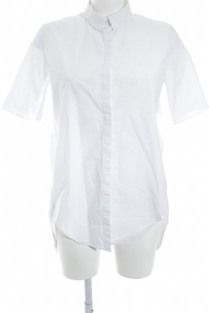 COS Chemise à manches courtes blanc style d'affaires