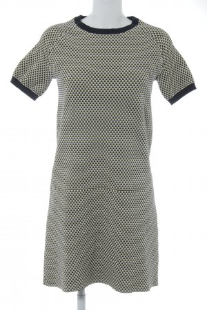COS Shortsleeve Dress abstract pattern '70s style