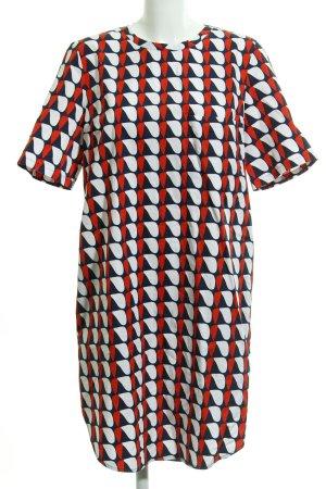 COS Kurzarmkleid abstraktes Muster extravaganter Stil