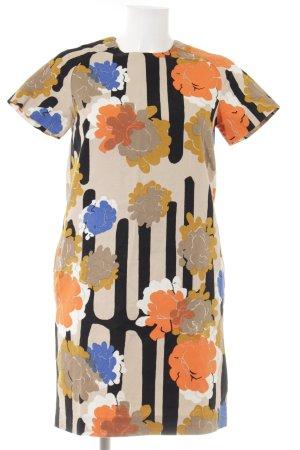 COS Kurzarmkleid Blumenmuster Casual-Look