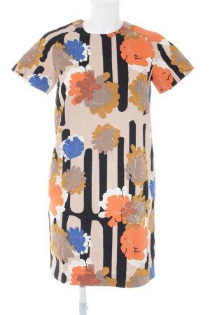 COS Shortsleeve Dress flower pattern casual look