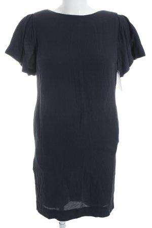 COS Kurzarmkleid dunkelblau klassischer Stil