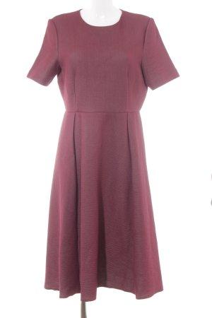 COS Kurzarmkleid hellgrau-purpur Elegant