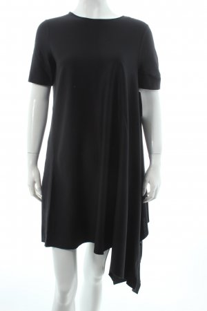COS Kurzarmkleid schwarz Casual-Look