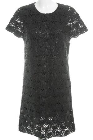 COS Robe à manches courtes noir élégant