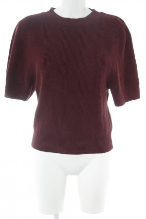 COS Short Sleeve Sweater red casual look