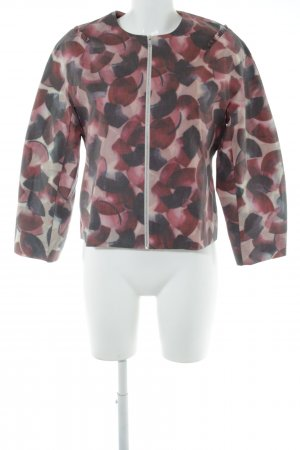 COS Short Jacket abstract pattern casual look