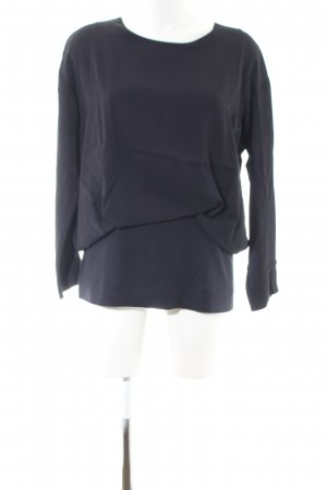COS Long Sleeve Blouse blue business style