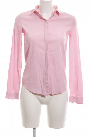 new product ffc20 f0929 COS Langarm-Bluse pink Business-Look