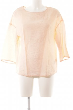 COS Long Sleeve Blouse apricot simple style