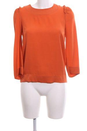 COS Camicetta a maniche lunghe arancione chiaro stile professionale
