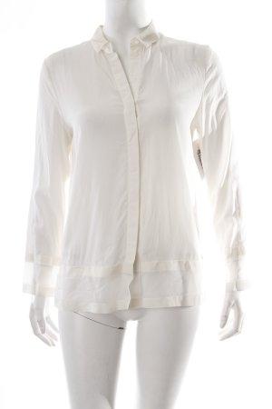 COS Langarm-Bluse creme-weiß