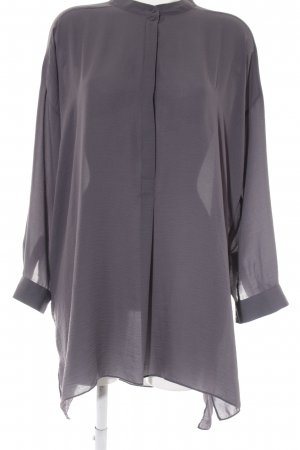 COS Langarm-Bluse dunkelgrau Elegant