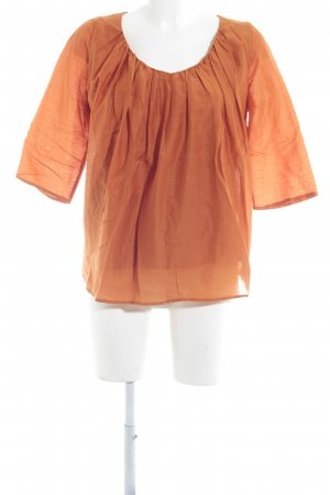 COS Langarm-Bluse dunkelorange Casual-Look