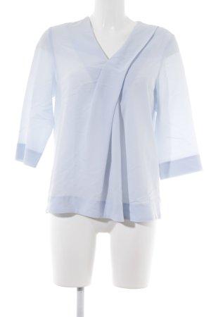 COS Langarm-Bluse himmelblau Casual-Look
