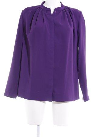 COS Langarm-Bluse lila schlichter Stil