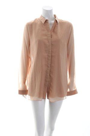 COS Langarm-Bluse nude klassischer Stil