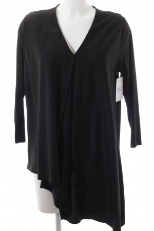 COS Long Sleeve Blouse black elegant