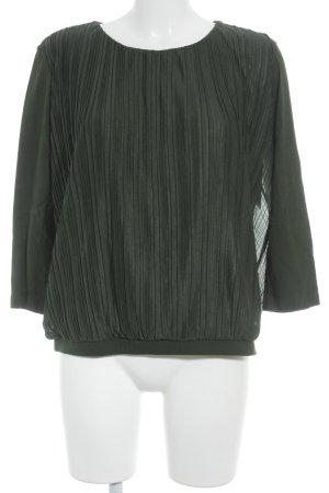 COS Langarm-Bluse waldgrün Casual-Look