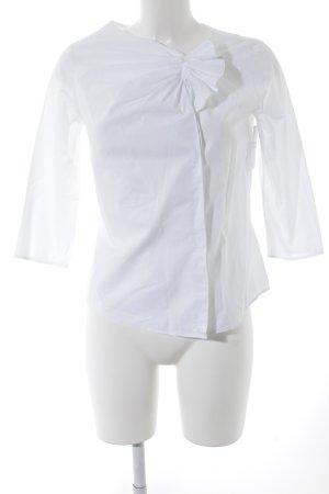 COS Langarm-Bluse weiß Casual-Look