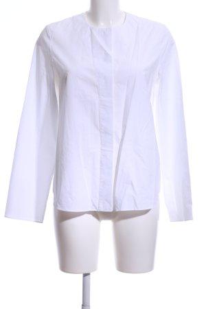 COS Camicetta a maniche lunghe bianco stile casual