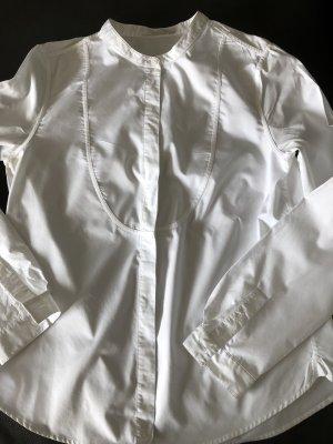 COS Langarm Bluse, Weiß, Größe 40