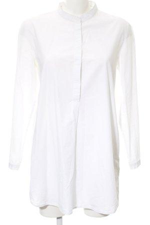 COS Langarm-Bluse weiß klassischer Stil
